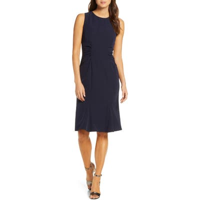 Vince Camuto Laguna Crepe Dress, Blue