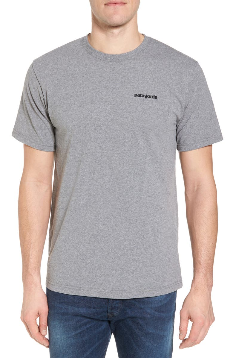 PATAGONIA Responsibili-Tee T-Shirt, Main, color, GRAVEL HEATHER
