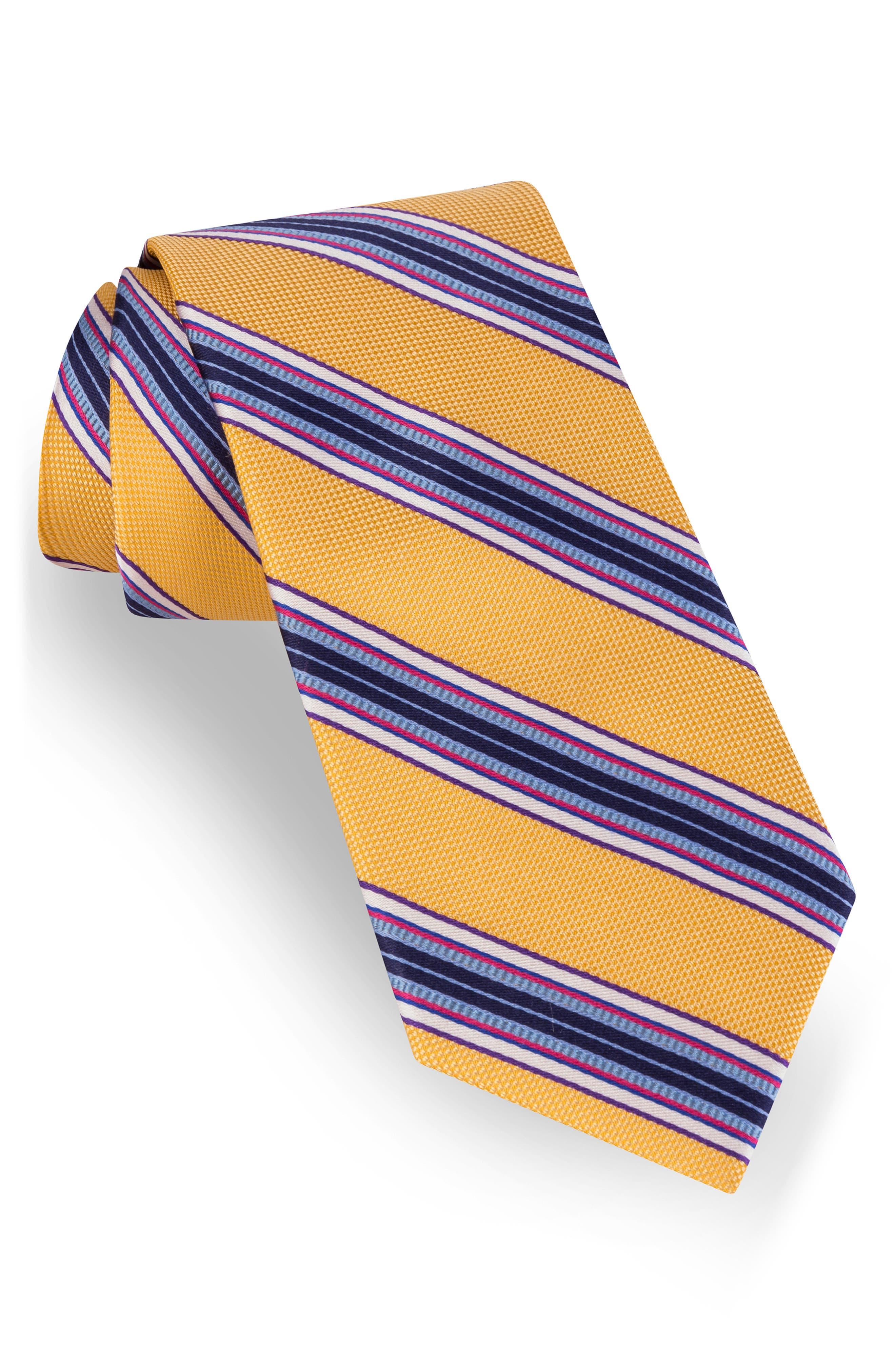 a69dd321 Men's 1920s Style Ties, Neck Ties & Bowties Mens Ted Baker London Stripe  Silk Tie