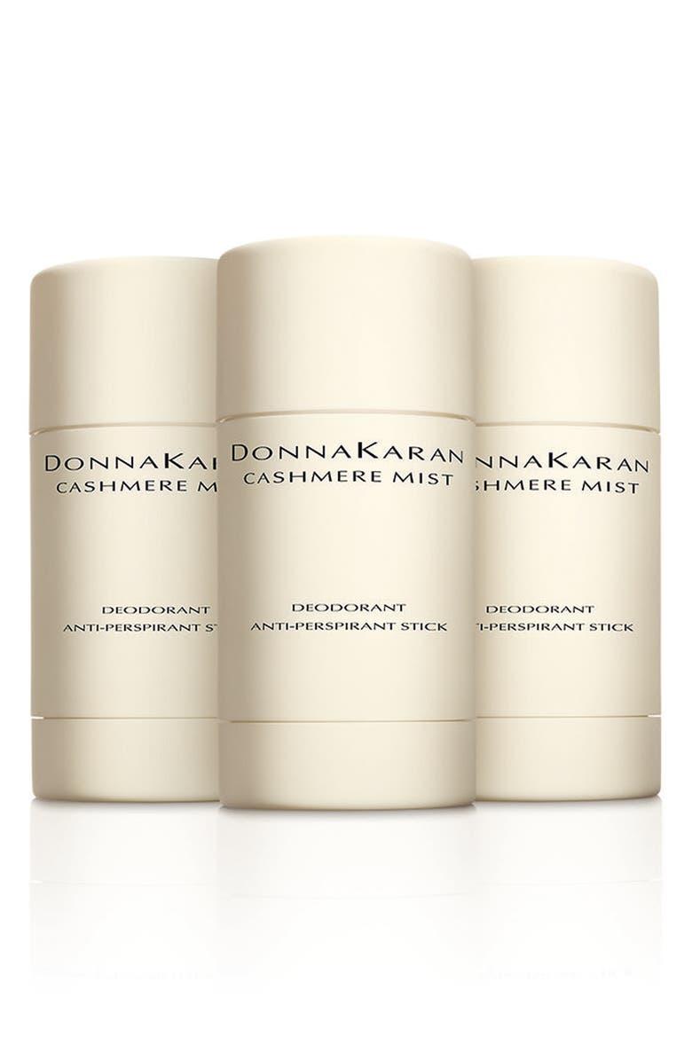 DONNA KARAN NEW YORK Donna Karan Cashmere Mist Deodorant Trio, Main, color, 000