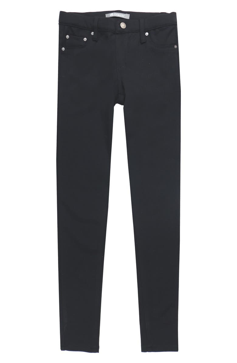 TRACTR Ponte Knit Skinny Jeans, Main, color, 001