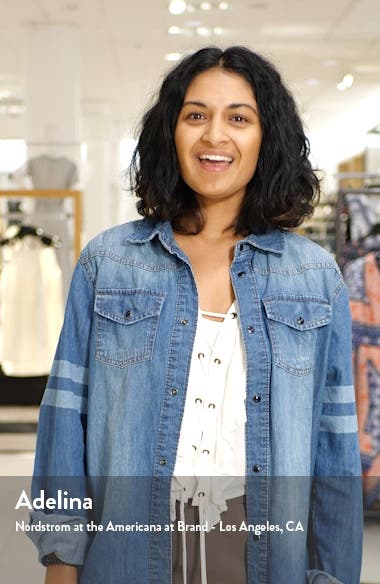 Quinn Pocket Shift Dress, sales video thumbnail