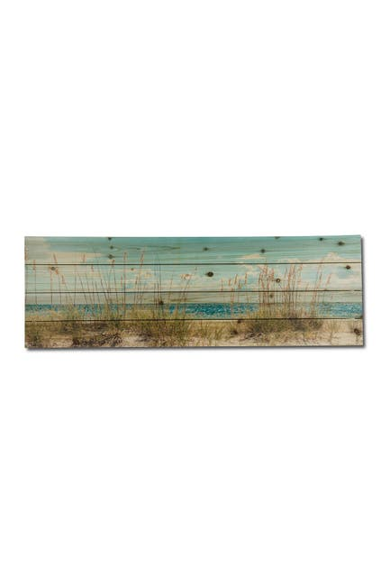 """Image of Gallery 57 Sand Dunes Long Wooden Wall Art - 36"""" x 12"""""""