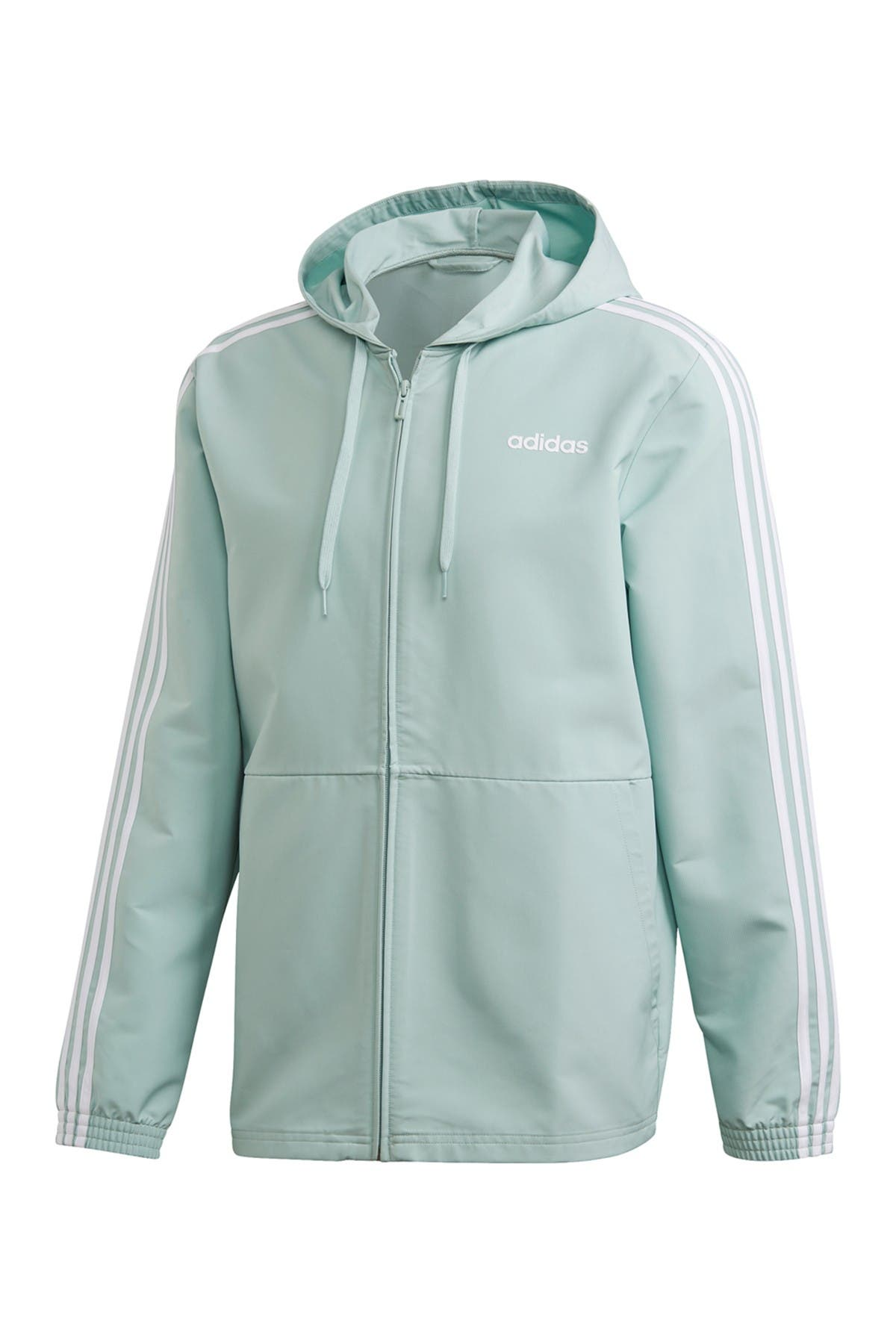 Image of adidas Essentials 3-Stripes Windbreaker
