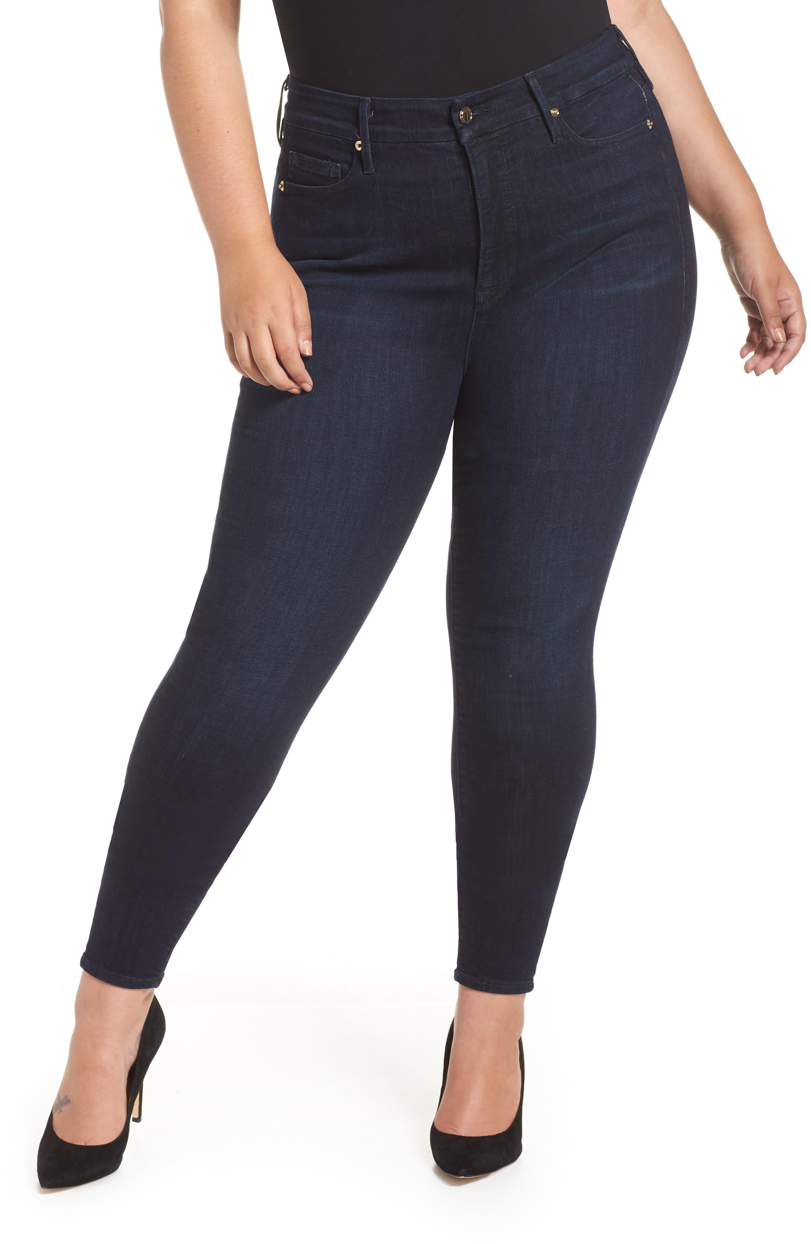,                             Good Legs High Waist Skinny Jeans,                             Alternate thumbnail 37, color,                             406