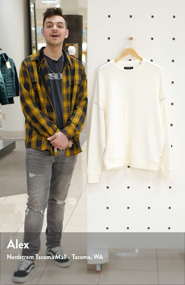 Warren Oversize Crewneck Sweater, sales video thumbnail