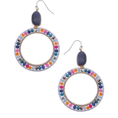 Nakamol Design Hoop Earrings