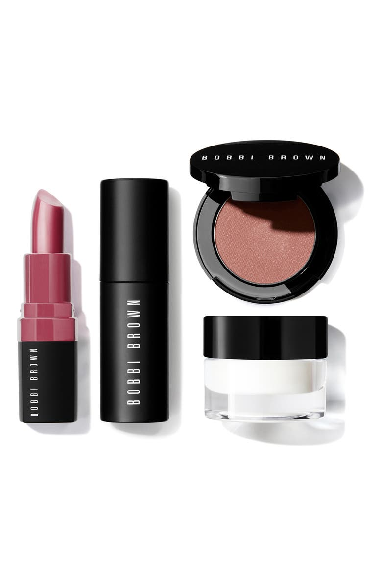 BOBBI BROWN Travel Size Face, Eye & Lip Makeup Set, Main, color, 000