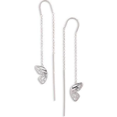 Olivia Burton Butterfly Wing Threader Earrings
