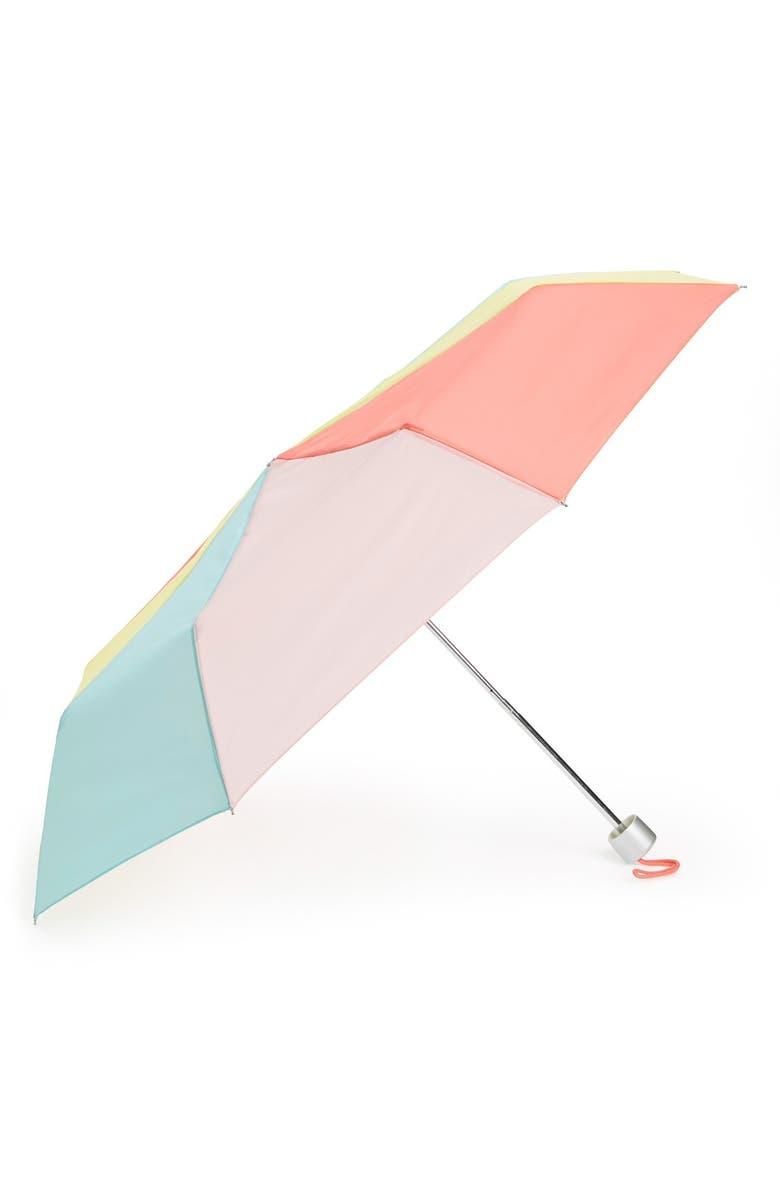 TRI-COASTAL DESIGN Colorblock Umbrella, Main, color, 650