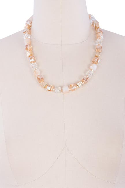 Image of Saachi Facet Beaded Necklace