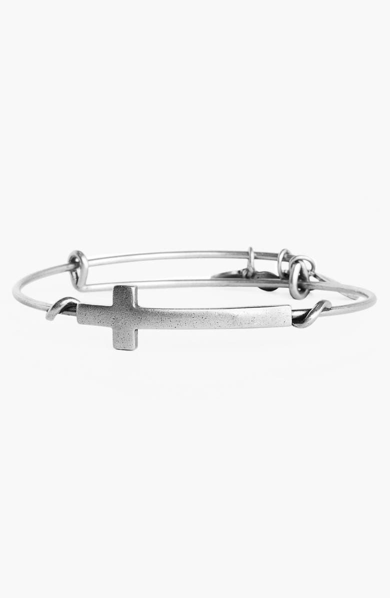 fab375934caca 'Cross Wrap' Expandable Wire Bangle
