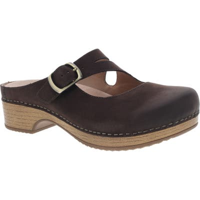 Dansko Britney Buckle Clog - Brown