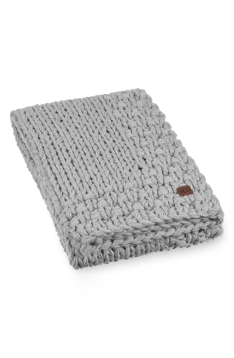 UGG<SUP>®</SUP> Averil Throw Blanket, Main, color, 020