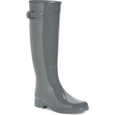 Hunter Original Refined High Gloss Waterproof Rain Boot