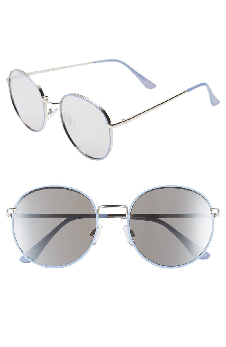 BP. 55mm Round Sunglasses, Main, color, 710