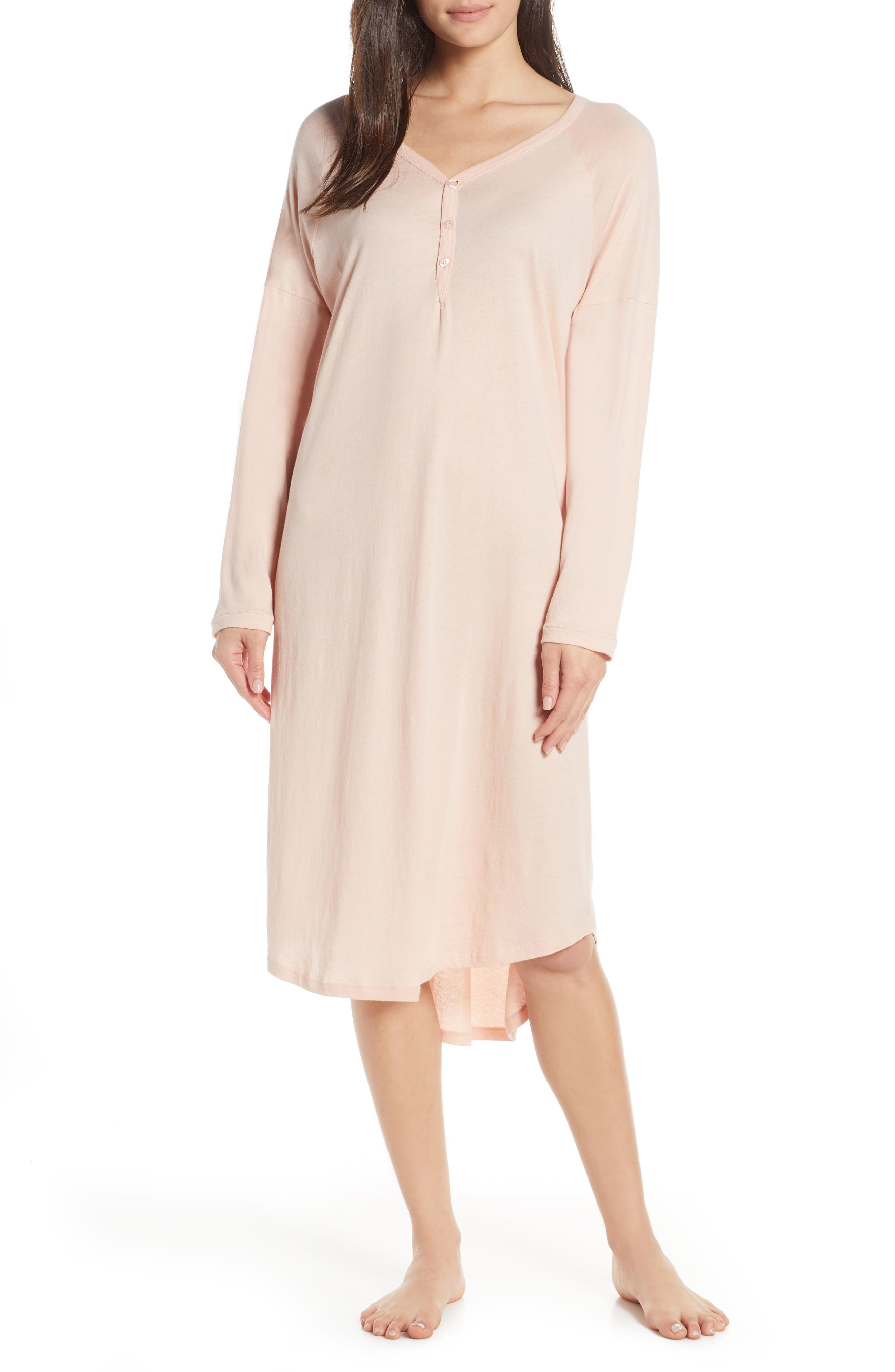 The Great. The Nightshirt Long Nightgown, Pink