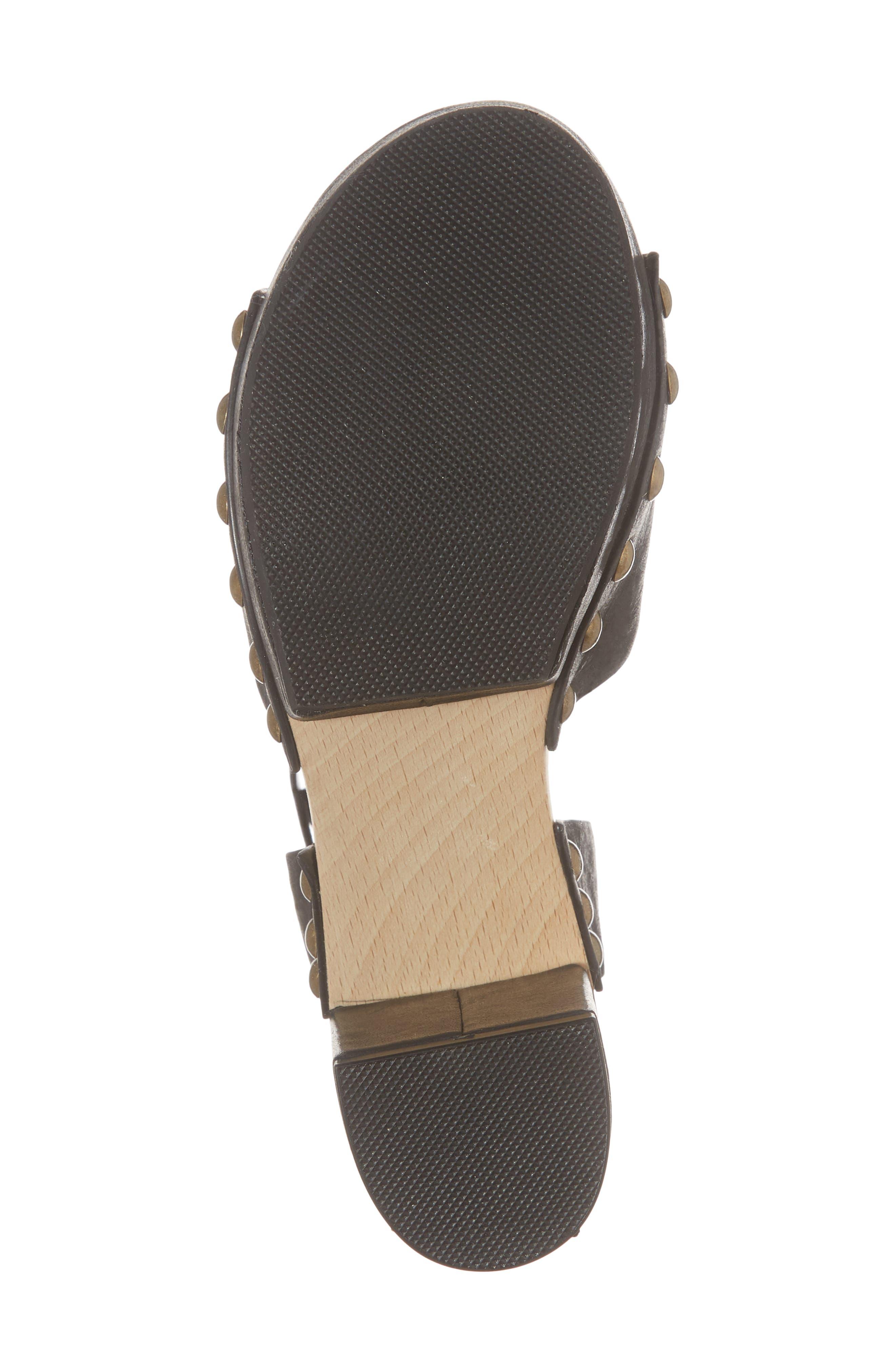 ,                             Farris Platform Sandal,                             Alternate thumbnail 6, color,                             001