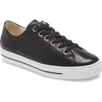 Paul Green Ally Low Top SneakerUS /4UK - Black