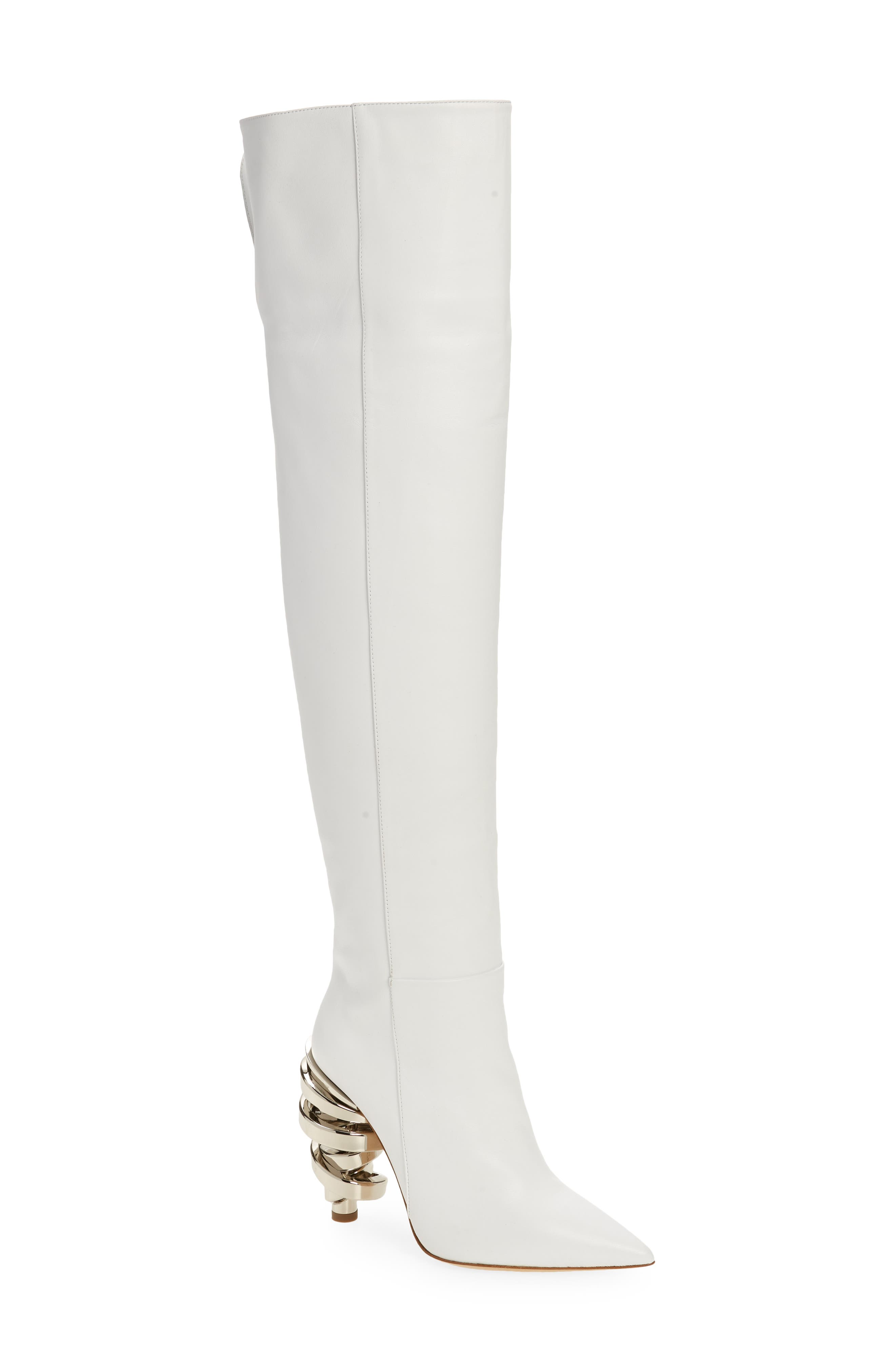 Zerina Pointed Toe Over The Knee Boot