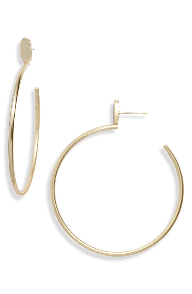 Kendra Scott Pepper Hoop Earrings