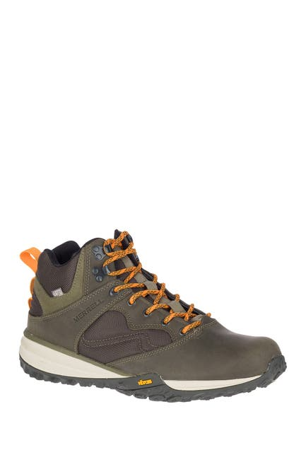 Image of Merrell Havoc Wells Waterproof Leather Sneaker