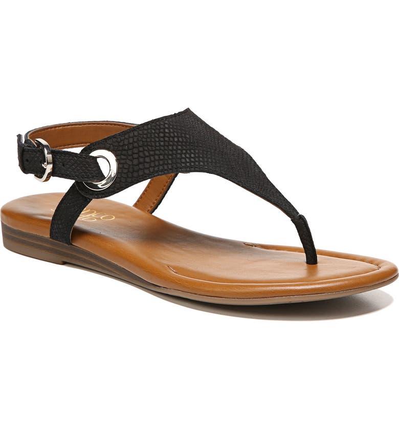 e6d123cc6 'Grip' Sandal, Main, color, BLACK/ BLACK LEATHER '