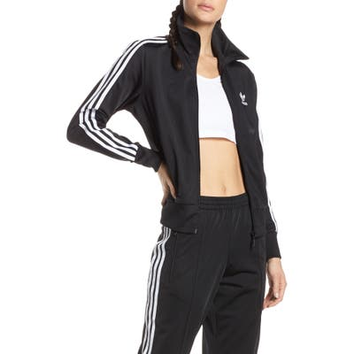 Adidas Originals Firebird Recycled Tricot Track Jacket, Black