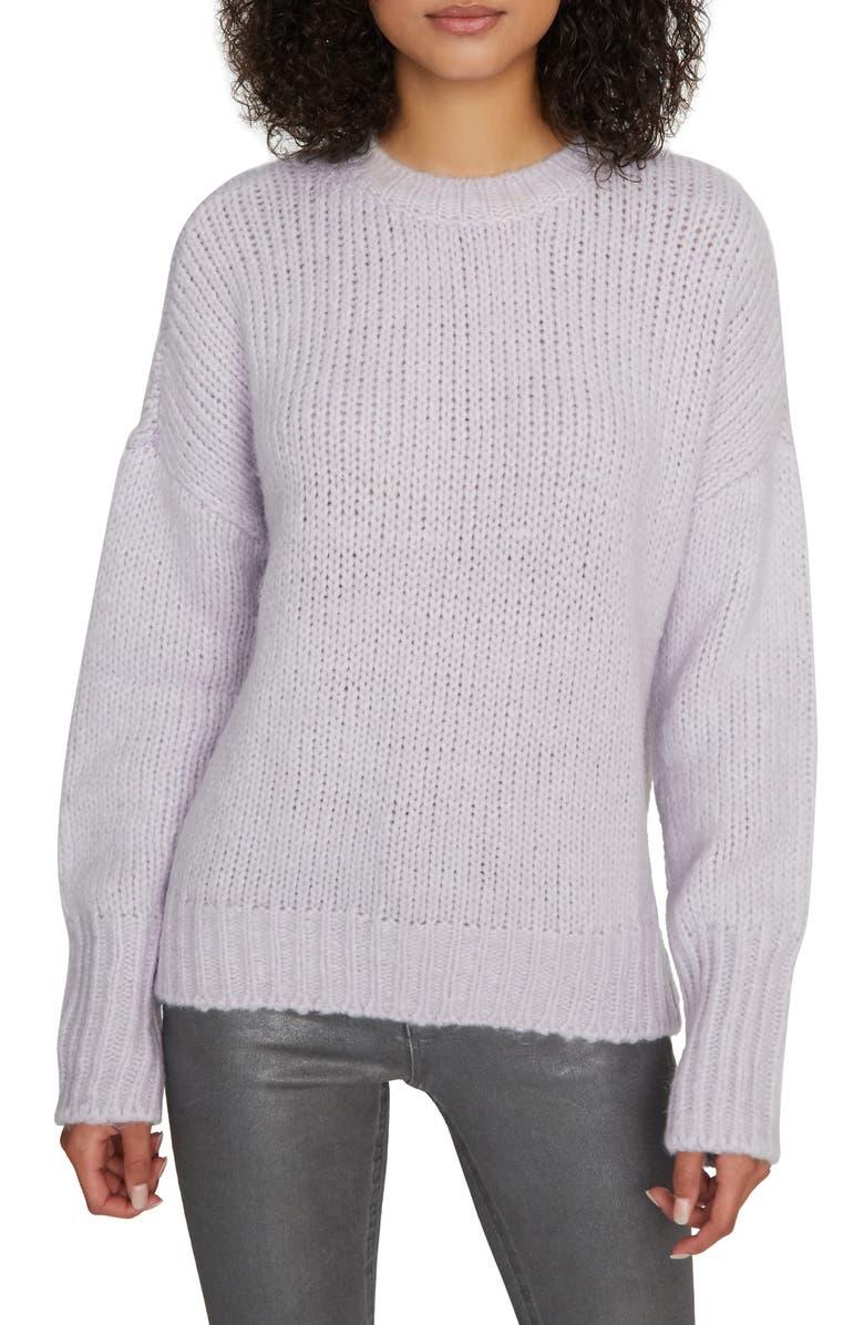 SANCTUARY Telluride Sweater, Main, color, LILAC SNOW