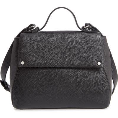 Treasure & Bond Skyler Leather Top Handle Bag - Black