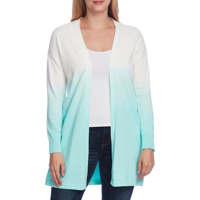 Vince Camuto Ombre Cotton Cardigan