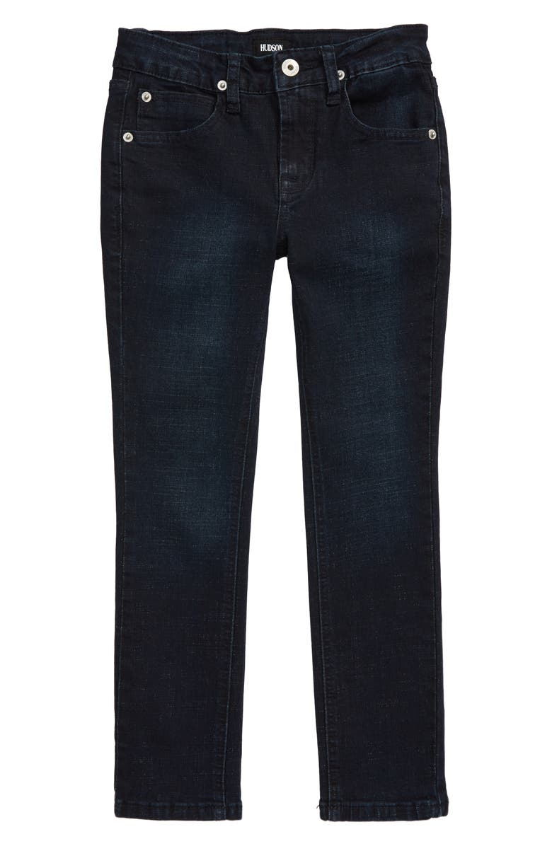 HUDSON JEANS Jude Skinny Jeans, Main, color, SUPERFLY WASH