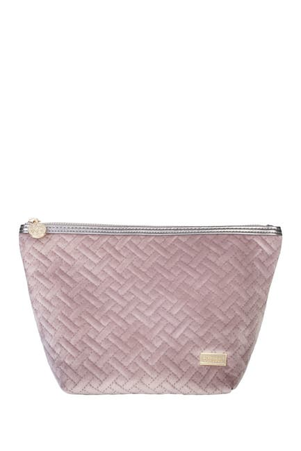 Image of Stephanie Johnson Laura Large Trapezoid Pouch - Dusty Plum