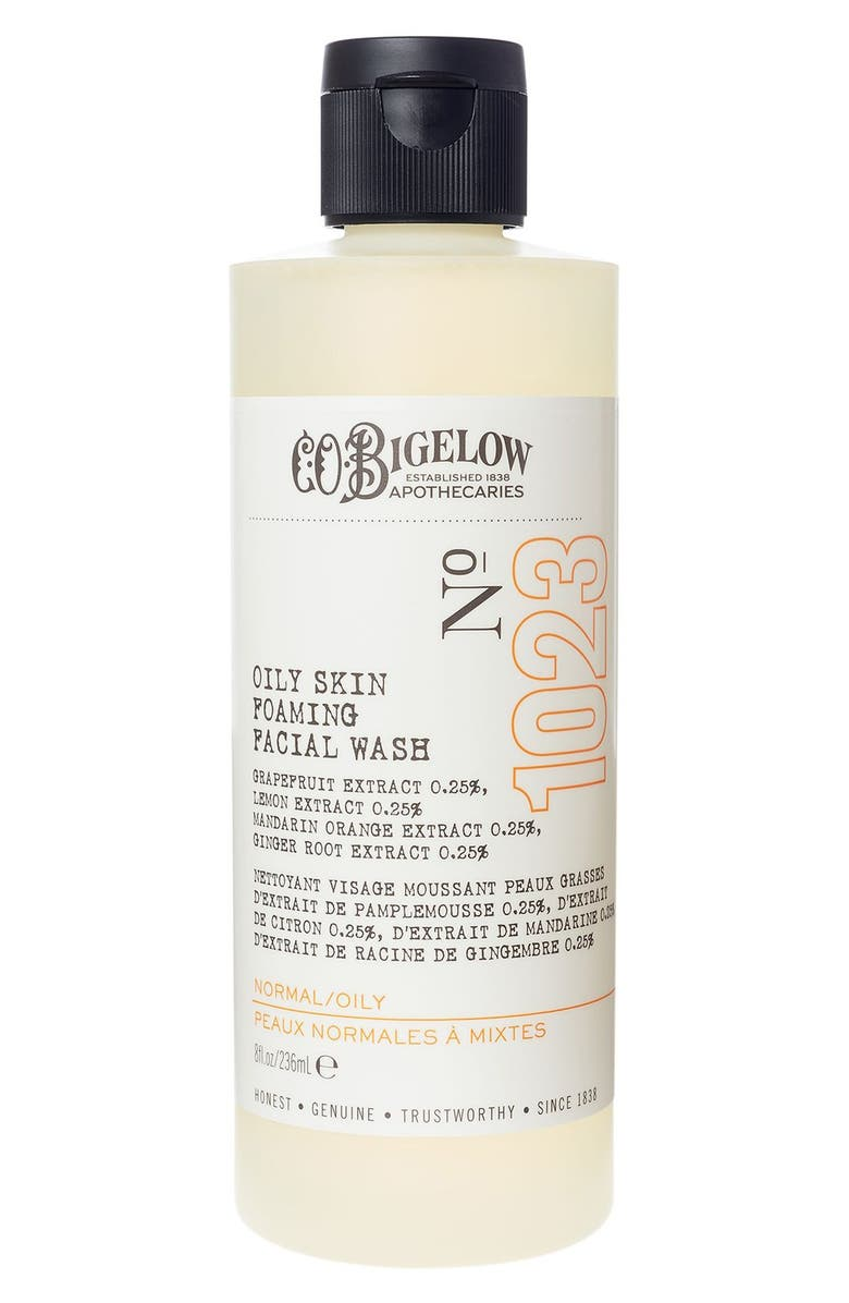 C.O. BIGELOW <sup>®</sup> Oily Skin Foaming Facial Wash, Main, color, 000