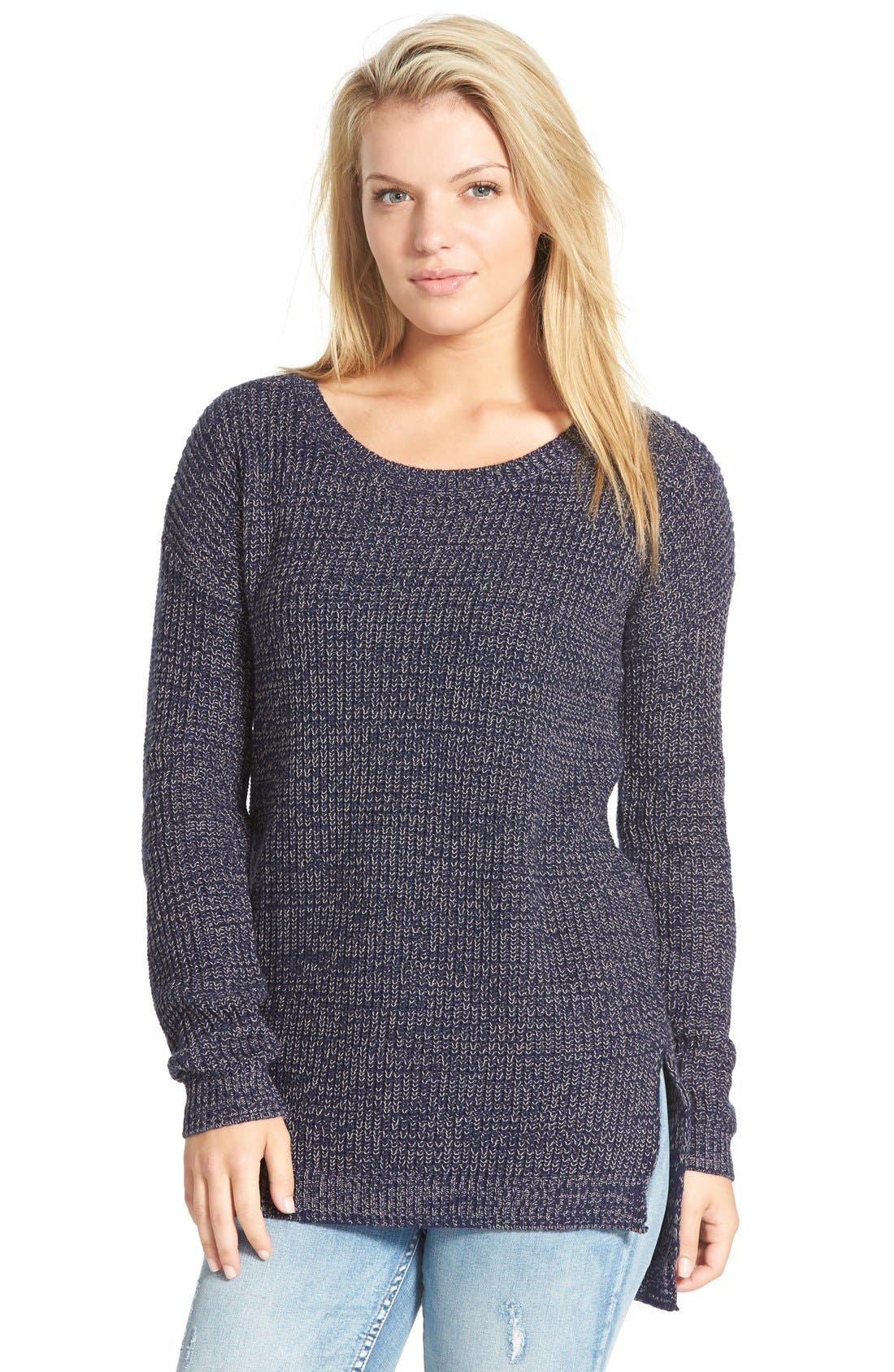 ,                             Textured Knit Pullover,                             Main thumbnail 23, color,                             410