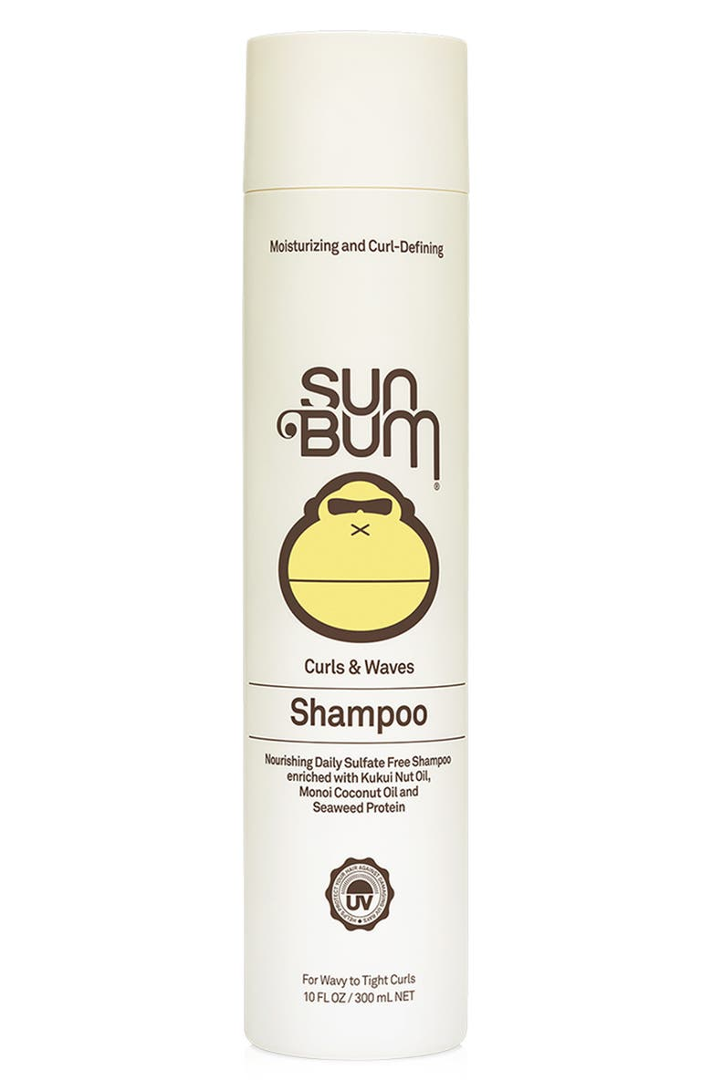 SUN BUM Curl & Waves Shampoo, Main, color, NO COLOR