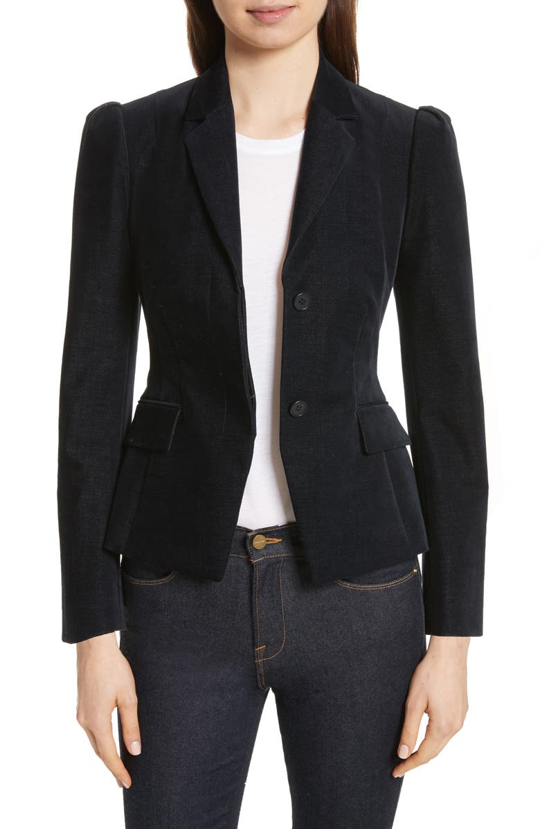 THEORY Shrunken Jacket, Main, color, 401