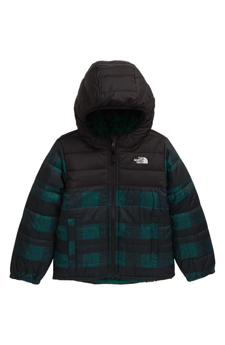 THE NORTH FACE Chimborazo Reversible Jacket, Main, color, NIGHT GREEN BUFF CHECK