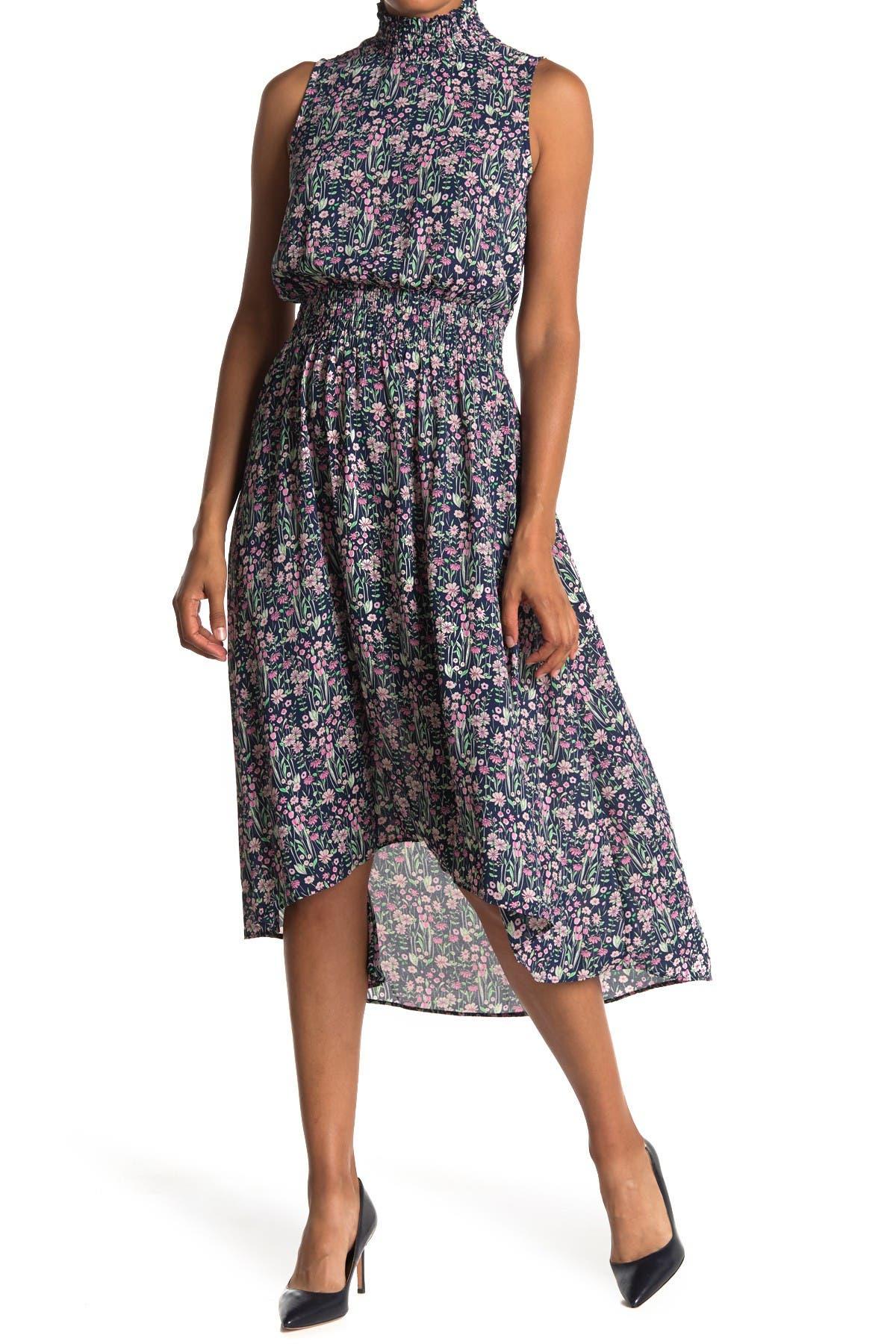 Image of NANETTE nanette lepore Sleeveless High/Low Midi Dress