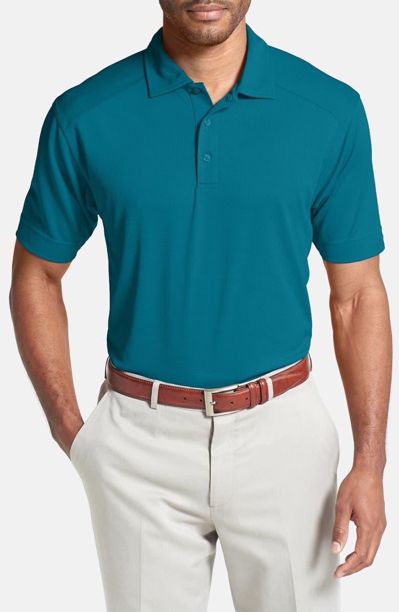 CUTTER & BUCK Genre DryTec Moisture Wicking Polo, Main, color, TEAL BLUE