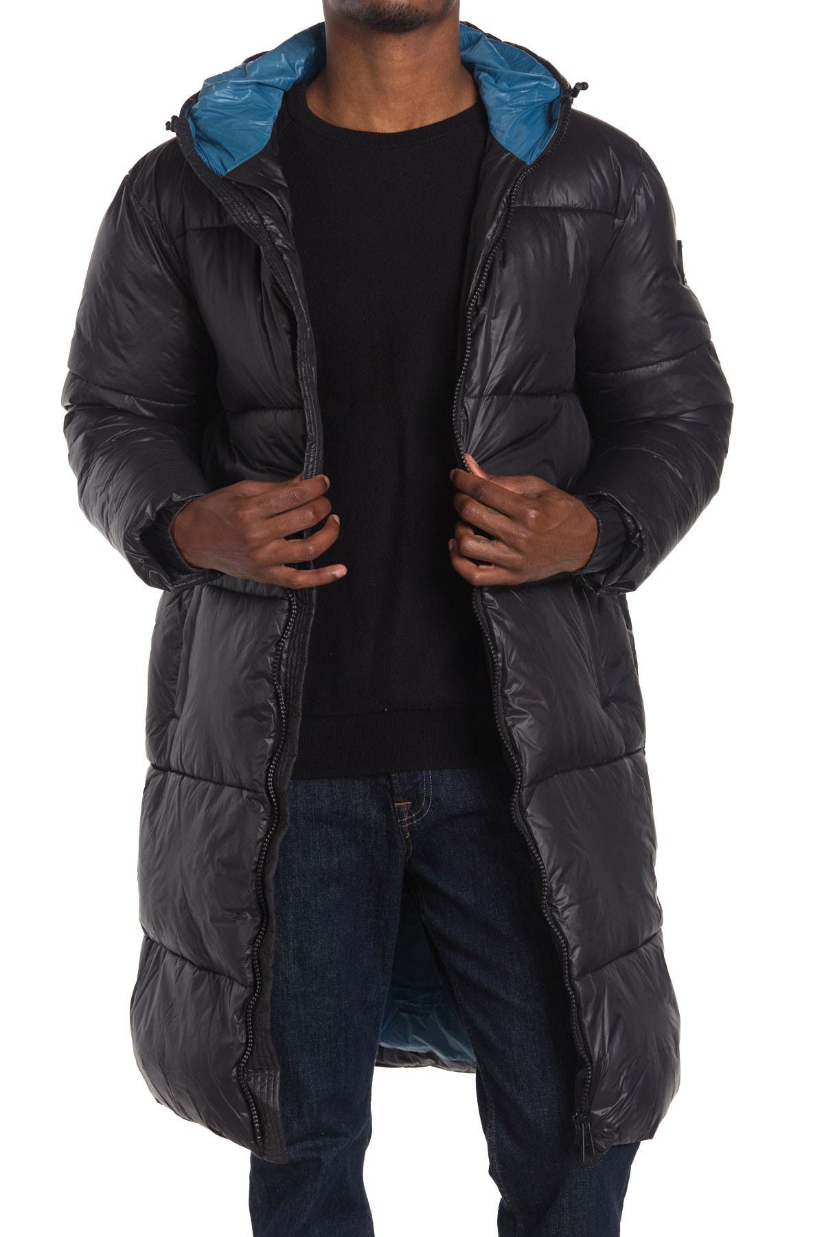 Image of NOIZE Quilted Puffer Jacket