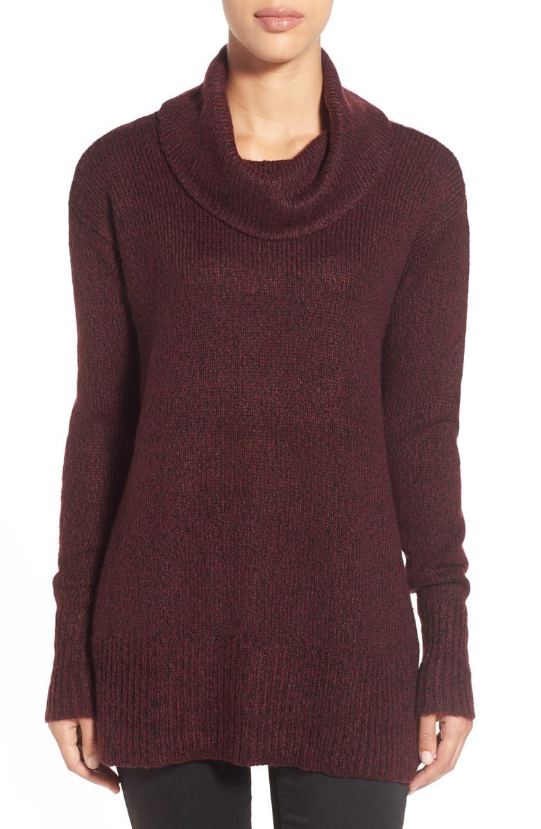 RDI RD Style Cowl Neck Sweater, Main, color, PORT TWIST