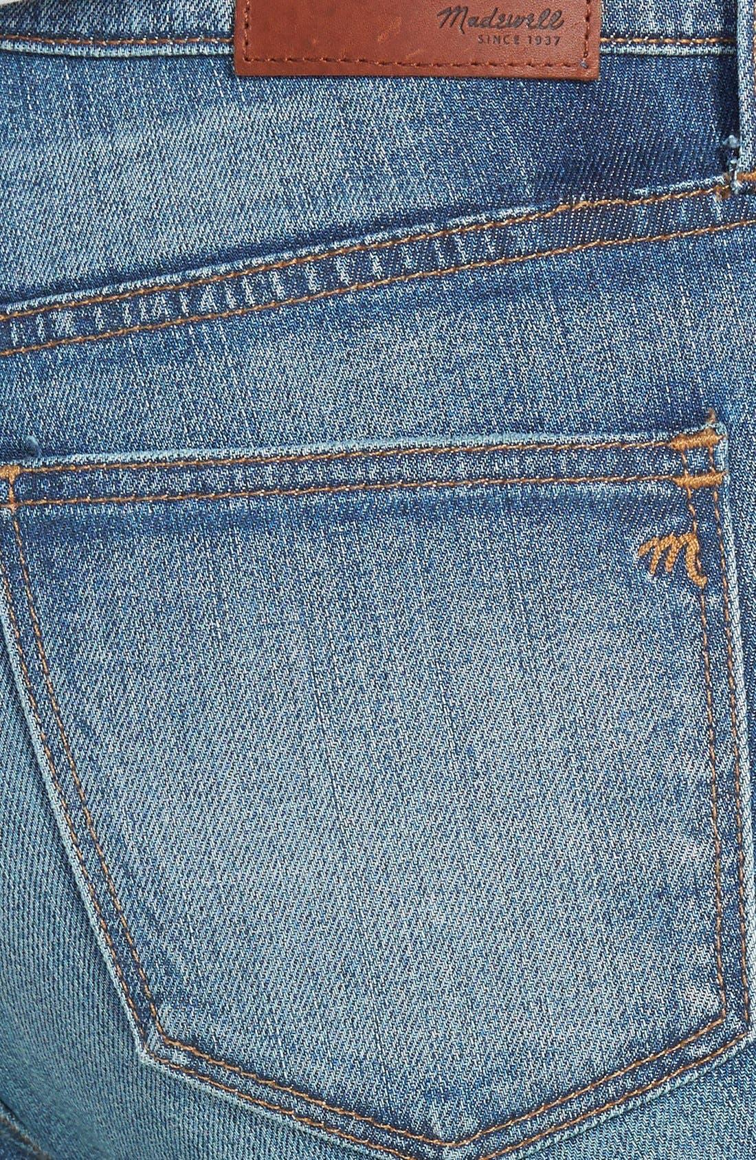 ,                             High Rise Skinny Jeans,                             Alternate thumbnail 2, color,                             400