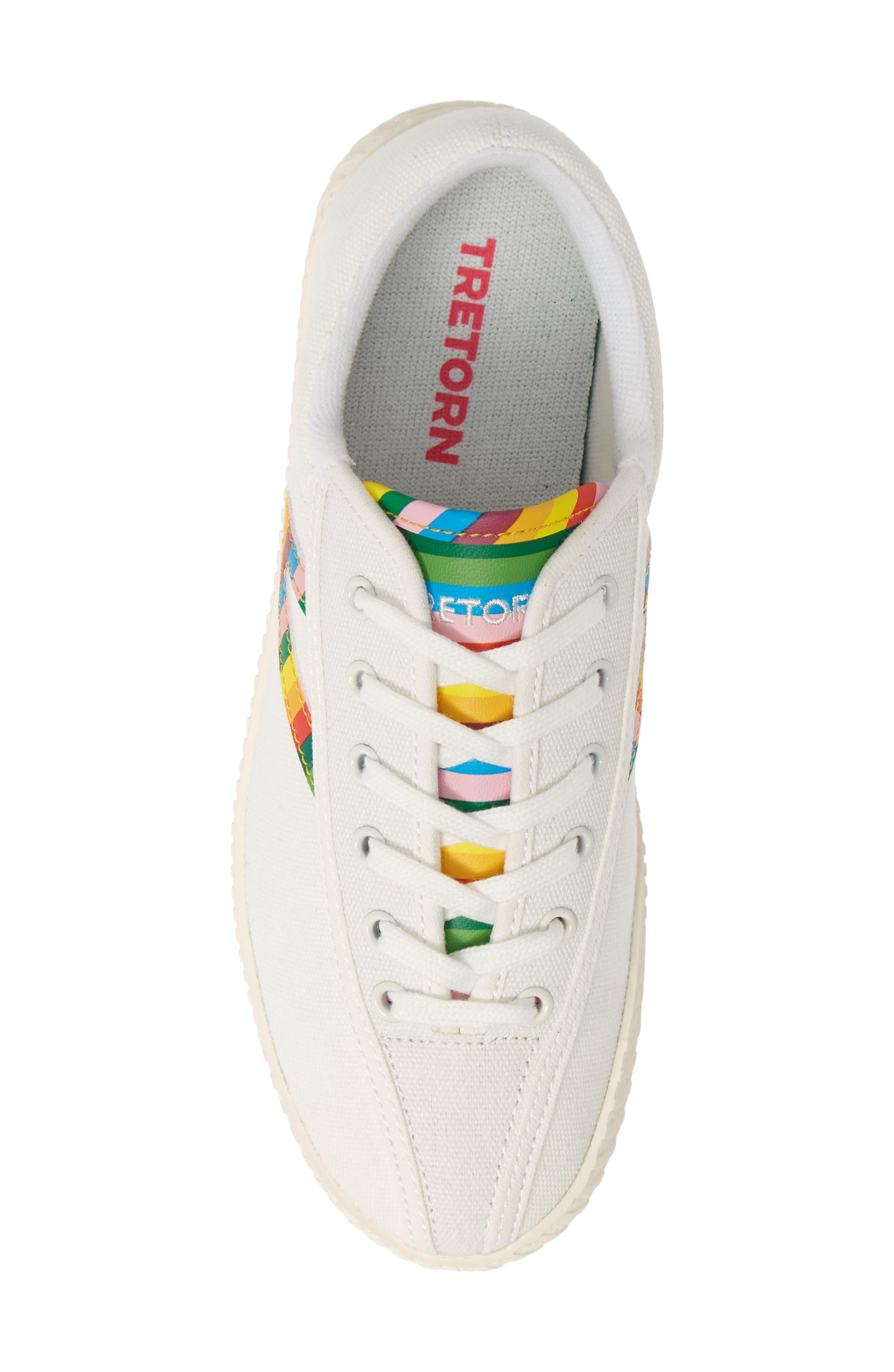 ,                             Nylite 28 Plus Sneaker,                             Alternate thumbnail 5, color,                             VINTAGE WHITE/ CLASSIC MULTI