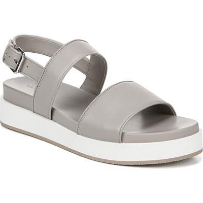 Via Spiga Davi Platform Sandal- Grey
