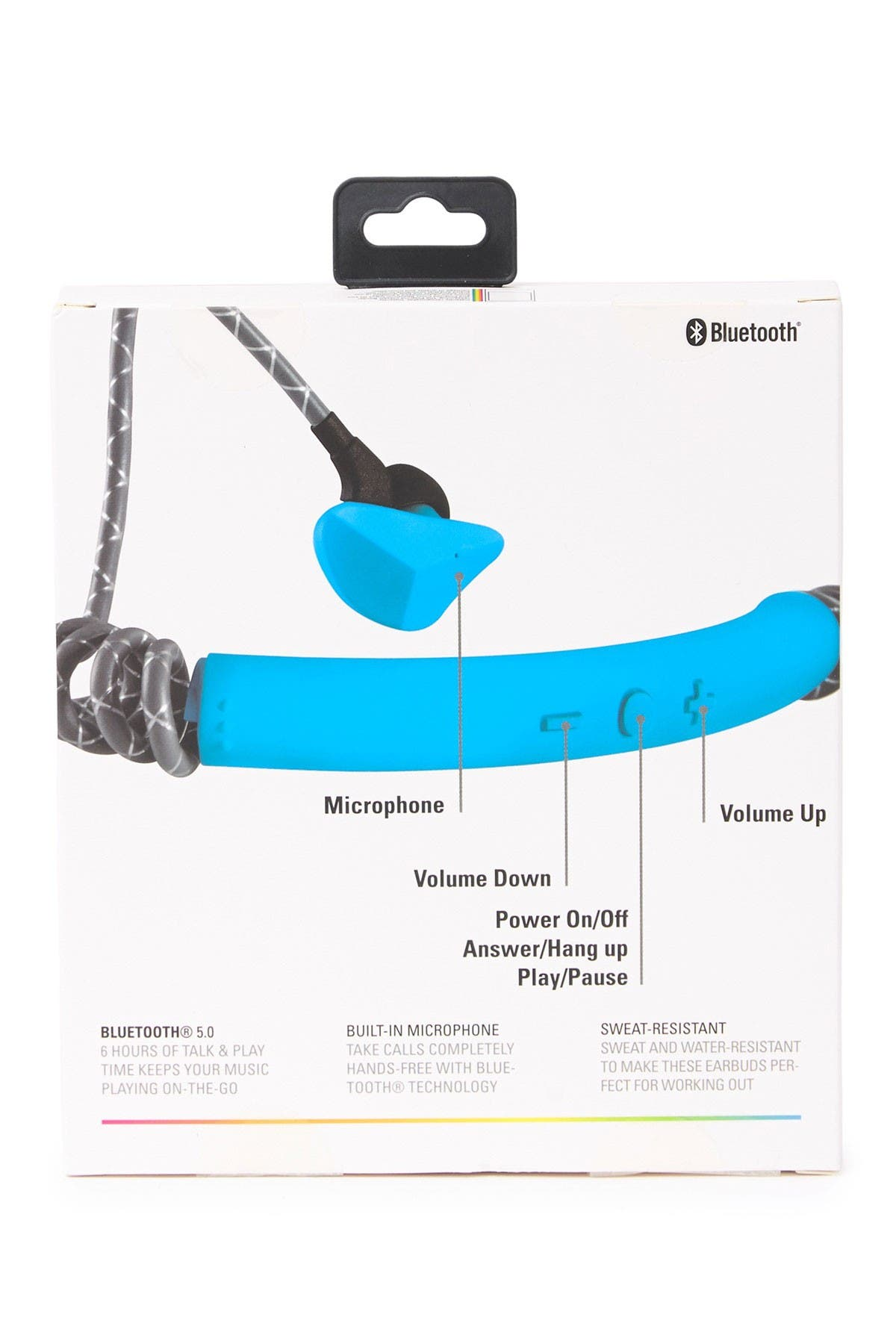 Image of Polaroid Sport Neck IPX4 Water Resistant Ear Buds