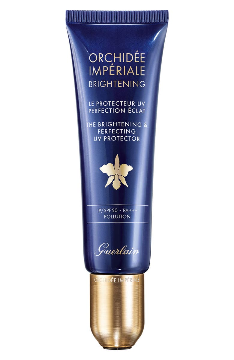 GUERLAIN Orchidée Impériale The Brightening & Perfecting UV Protector SPF 50, Main, color, NO COLOR