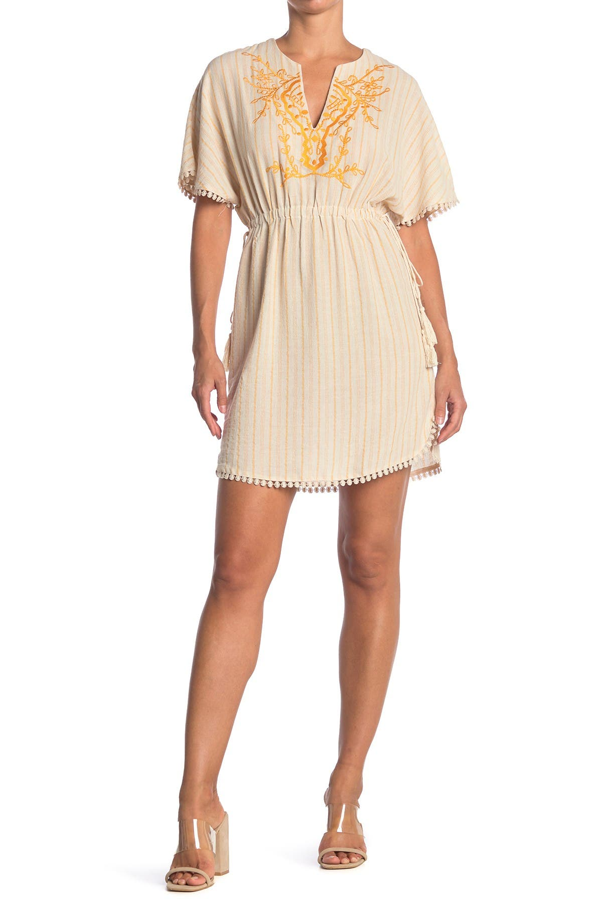 Image of ALL IN FAVOR Embroidered Dress