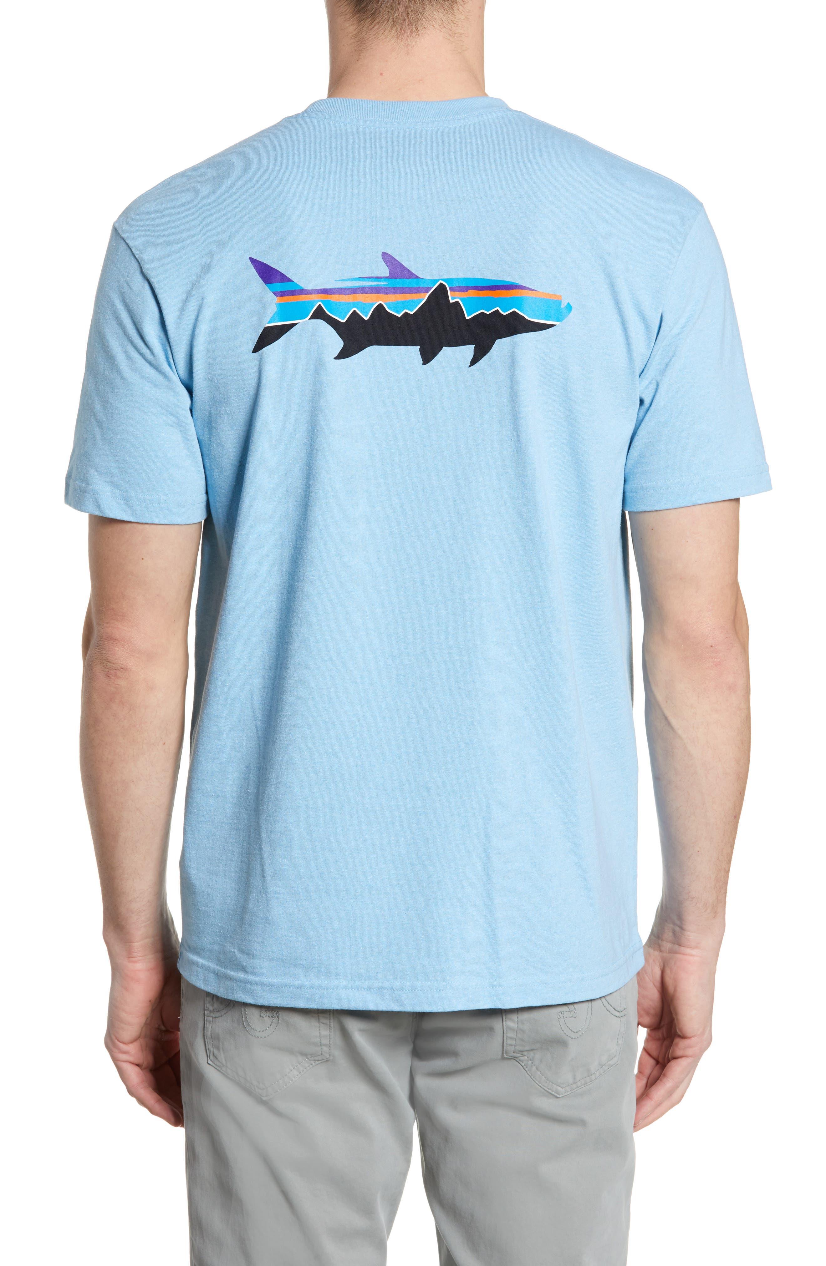 ,                             Fitz Roy Tarpon Responsibili-Tee T-Shirt,                             Alternate thumbnail 2, color,                             BREAK UP BLUE