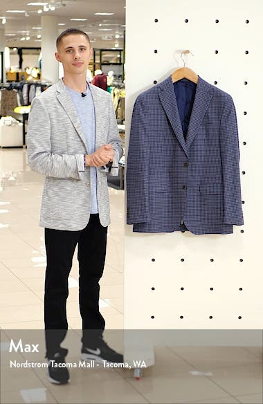 Arnold Classic Fit Check Wool Sport Coat, sales video thumbnail